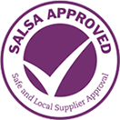 SALSA Approved logo